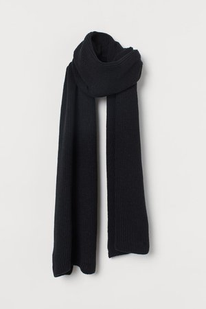 Scarf - Black - Ladies | H&M GB