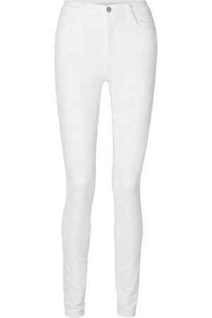 J Brand | Carolina hoch sitzende Skinny Jeans | NET-A-PORTER.COM