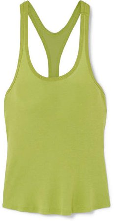 The Line By K - Sophie Cotton-jersey Tank - Green