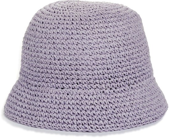Metallic Crochet Bucket Hat