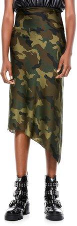 Maeve Asymmetrical Slip Skirt