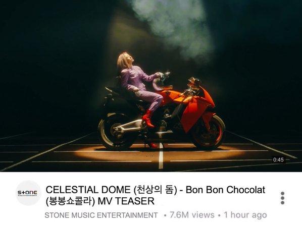 BON BON CHOCOLAT MV TEASER
