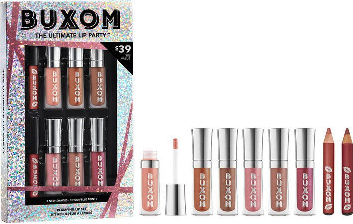 The Ultimate Lip Party Travel Size Plumping Lip Set