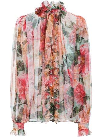 Dolce & Gabbana floral-print Blouse - Farfetch