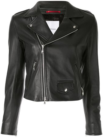 Loveless Leather Biker Jacket - Farfetch