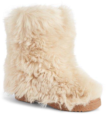 Genuine Shearling Boot
