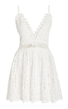 Evana Crocheted Mini Dress By Alexis | Moda Operandi
