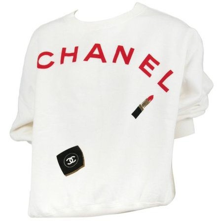 White Chanel Sweater