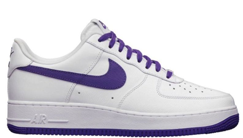 Nike Air Force 1 Low LE QS White/Court Purple   Nike   Sole Collector