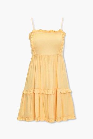 Ruffle-Trim Mini Dress   Forever 21