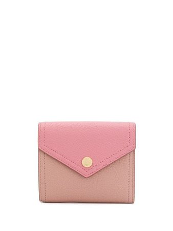 Miu Miu Two-tone Madras leather wallet £290 - Shop Online. Same Day Delivery in London