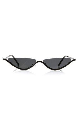Visionary Sunglasses - Black – Fashion Nova