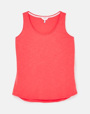 Bo null Jersey Tank Top , Size US 6 | Joules US red