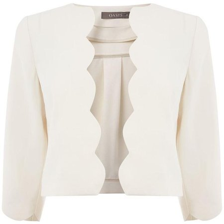 Scallop Edge To Edge Jacket - House of Fraser