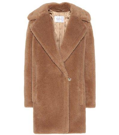 Uberta camel wool coat