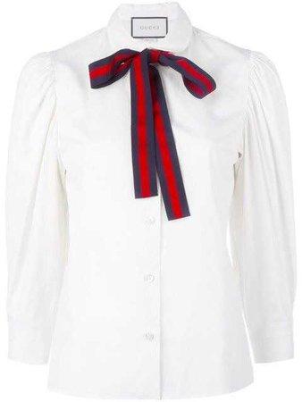GUCCI Bow Detail Shirt.