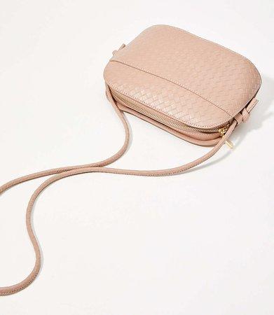 Woven Crossbody Bag | LOFT