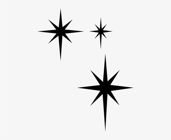 Download Free png Sparkle Clipart Black And White - Free Transparent PNG Download ... - DLPNG.com