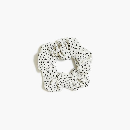 J.Crew Factory: Scatter Dot Animal-print Scrunchie For Women
