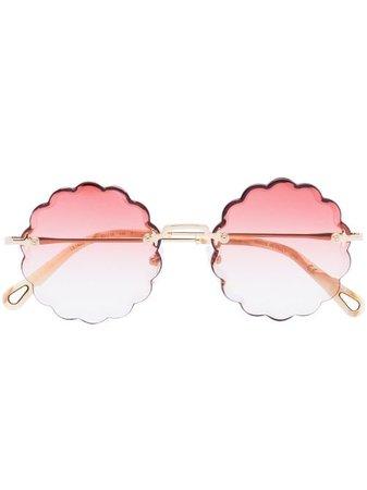 Chloé Eyewear Rosie round-frame Sunglasses - Farfetch