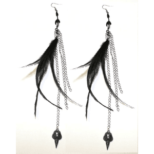 Earrings Feather PNG