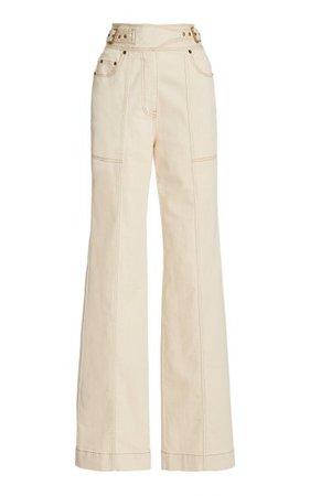 Albie Stretch High-Rise Straight-Leg Jeans By Ulla Johnson | Moda Operandi