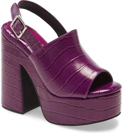 Jeffrey Campbell Mattix Platform Sandal (Women) | Nordstrom