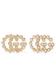 Buccellati | Rombi 18-karat yellow and white gold diamond earrings | NET-A-PORTER.COM