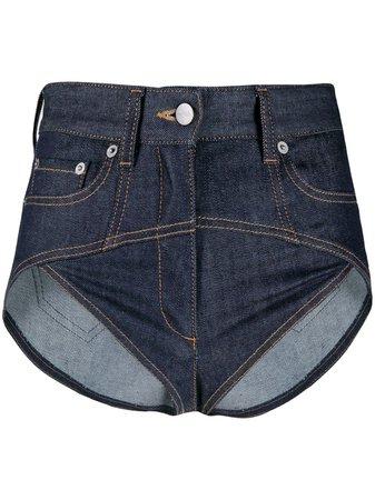 FENTY Super Mini Denim Shorts - Farfetch