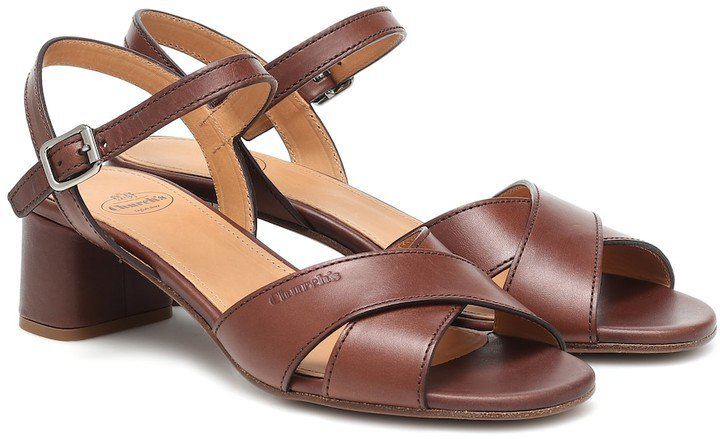 Dolly leather sandals