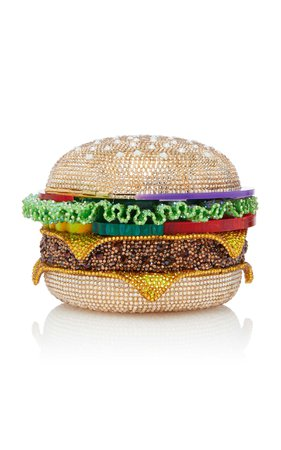Hamburger Clutch by Judith Leiber Couture | Moda Operandi