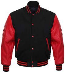 red letterman jacket - Google Search