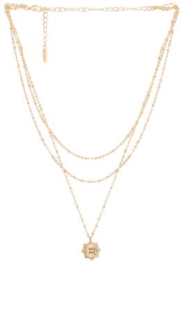 Ettika Layered Necklace in Gold | REVOLVE