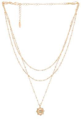 Ettika Layered Necklace in Gold | REVOLVE