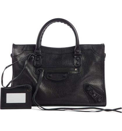 Balenciaga Mini Classic City Calfskin Leather Satchel | Nordstrom