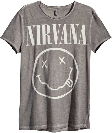 Nirvana T-Shirt (Grey)