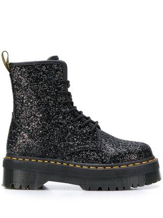 Dr. Martens Sequin Lace-Up Boots