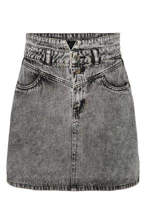 VERO MODA Kathy High Waist Denim Skirt | Nordstrom