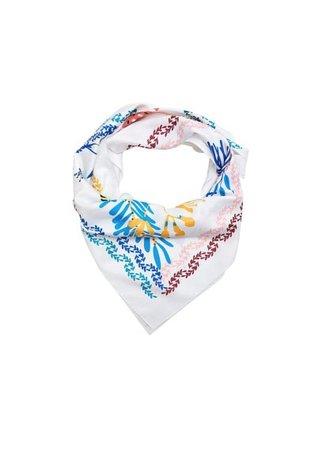 Violeta BY MANGO Floral printed scarf