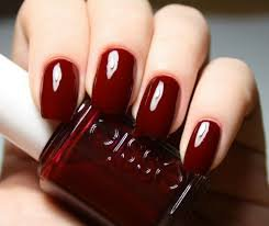 dark red nail polish - Google Search