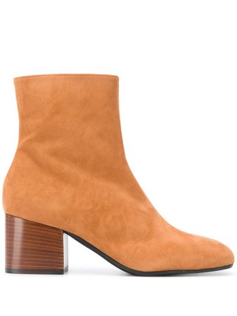 Marni Suede Ankle Boots - Farfetch