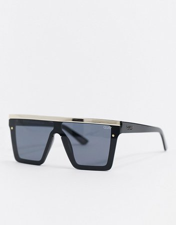 Quay Australia Honey cat eye sunglasses in black | ASOS