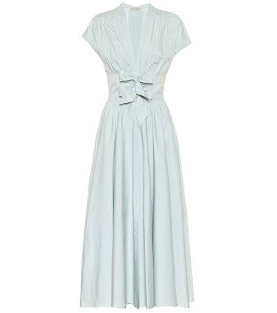 Alaïa, Cotton-poplin midi dress