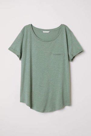 Slub Jersey T-shirt - Green