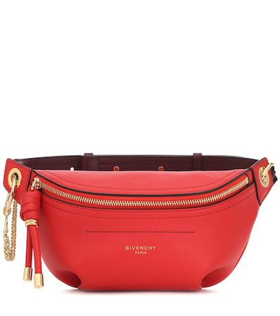 Whip Small leather belt bag