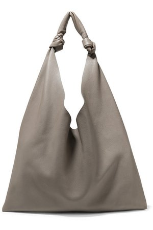 The Row | Bindle textured-leather shoulder bag | NET-A-PORTER.COM