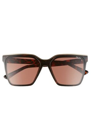 Quay Australia Level Up 55mm Square Sunglasses | Nordstrom