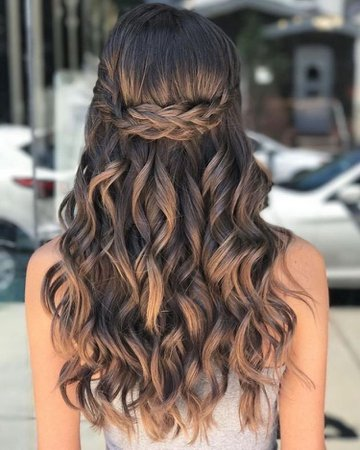 hair style for fancy party