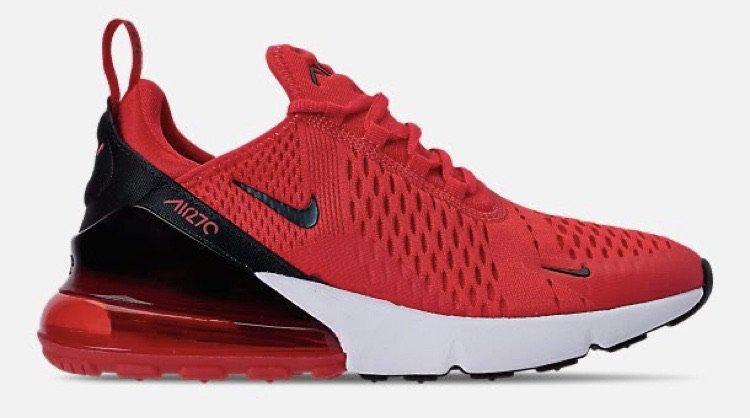 Red air max 270