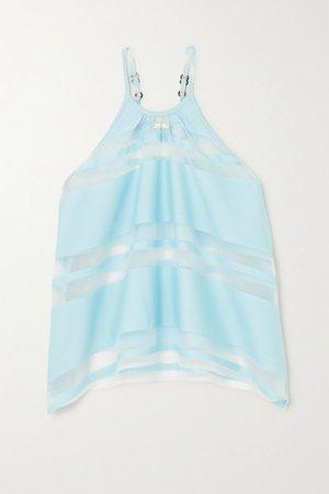 Cult Gaia | Nadine striped satin-jacquard camisole | NET-A-PORTER.COM